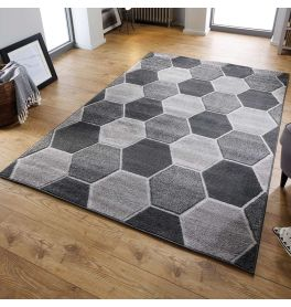 Cheap Grey Convex Rug