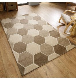 Cheap Natural Hive Rug