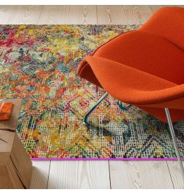 Sale Colores Cloud Digital CO05 Abstract Multi Coloured Rug 200x300