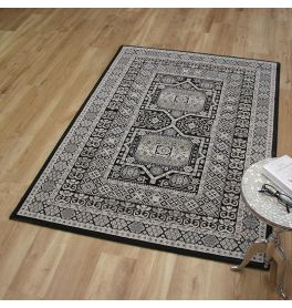 Da Vinci Rug 0147 Grey Black