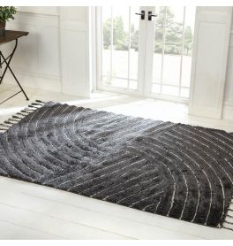 Eclectic Auckland Rug Grey