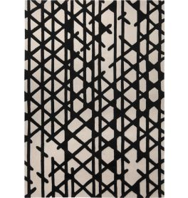 Esprit Artisan Pop Black White Rug