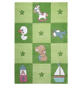 SMART KIDS Newborn Green Rug