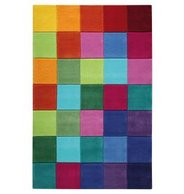 SMART KIDS Smart Square Multicolour Rug