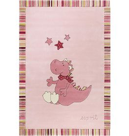 Esprit Sweet dragon Pink Rug