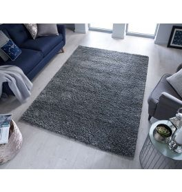 Sparks Anthracite Shaggy Rug