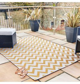 Trieste Traditional Patterned Yellow Rug