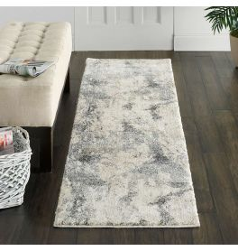 Abstract Fusion FSS16 Cream Grey Rug