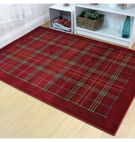 Galloway Rug Red