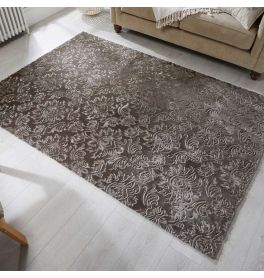 Grey Damascus Rug
