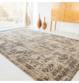 Hadschlu Antique Rug 8720 Agha Old Gold