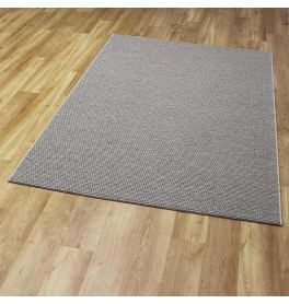 High Line Woolen Rug 3005 Light Grey