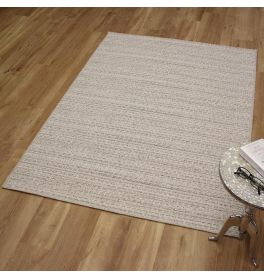 Highline Woolen Rug 6009 White