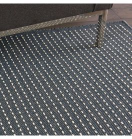 Indoor Outdoor Rug CK740 Charcoal White