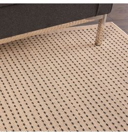 Indoor Outdoor Rug CK740 Cream Black