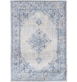Khayma Raz Fairfield Rug 8670 Blue Border