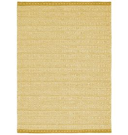 Knox Reversible Rug Ochre Wool Dhurry
