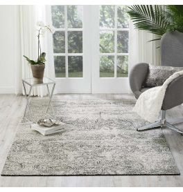 Luminance Rug LUM11 Ivory Black