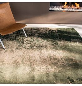Mad Men Cracks Rug 8723 Dark Pine