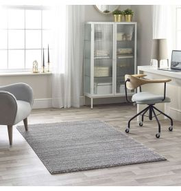 Maison White Grey 3D Rug 7887C Stripes