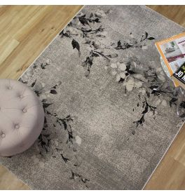 Marble Rug Grey Charcoal 37213 952