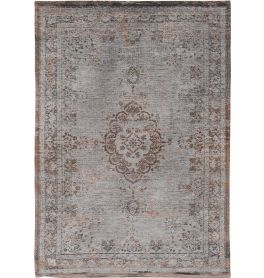 Medallion Rug 8257 Grey ebony