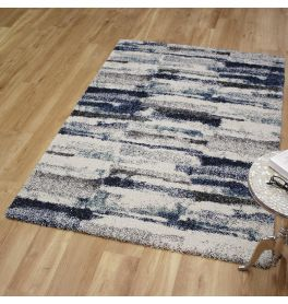 Mehari Rug 6151 Blue Bone Grey
