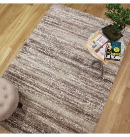 Mehari Rug Brown Beige 94 6828