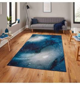 Michelle Collins OS0078 Navy Rug