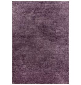 On Sale Milo Plain Shimmer Medium Rug Purple 120x170cm size