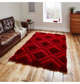 Noble House NH8199 Red Rug