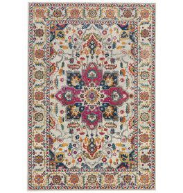 Nova Rug Persian White Multi NV24