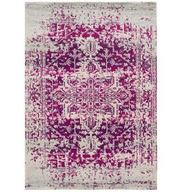 Nova Rug NV08 Antique Plum Red
