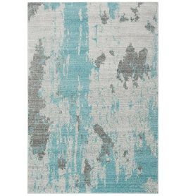 Nova Rug NV15 Painterly Duck Egg
