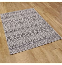 Outside Rug Brighton Silver Natural Bone 3051