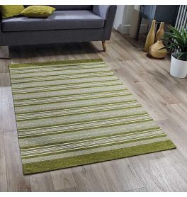 Pacific 129X Rug Green Stripes