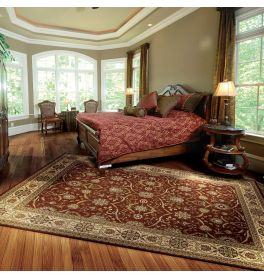 On Sale Persian Crown Traditional Medium Rug PC001 Brick 160x224cm