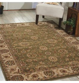 Persian Crown Traditional Rug PC002 Green