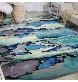 Prismatic Rug PRS04 Sea Glass