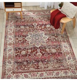 On Sale Red Vintage Kashan Medium Rug VKA01 160x239cm