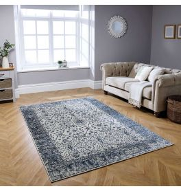 Richmond 25 W Traditional Rug Blue