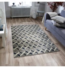 Richmond 102E Silver Blue Rug