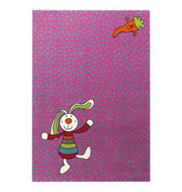 SIGIKID Rainbow Rabbit Purple Rug