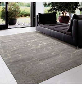 Silk Shadows Rug SHA02 Silver