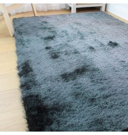 Silky Fine Charcoal Rug