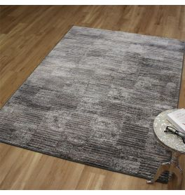 Strata Rug Grey Blue Brown