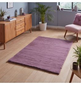 Teddy Soft Shaggy Lavender Rug