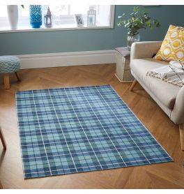 Thin Cottage Pale Blue Rug 22G