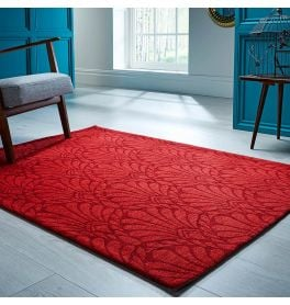 V&A Rhapsody Rug Red