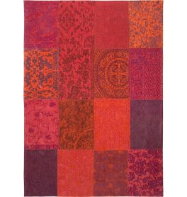 Vintage Rug Multi 8103 Orange Purple